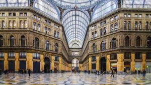 Napoli - Galleria Umberto I - Grande Borgo